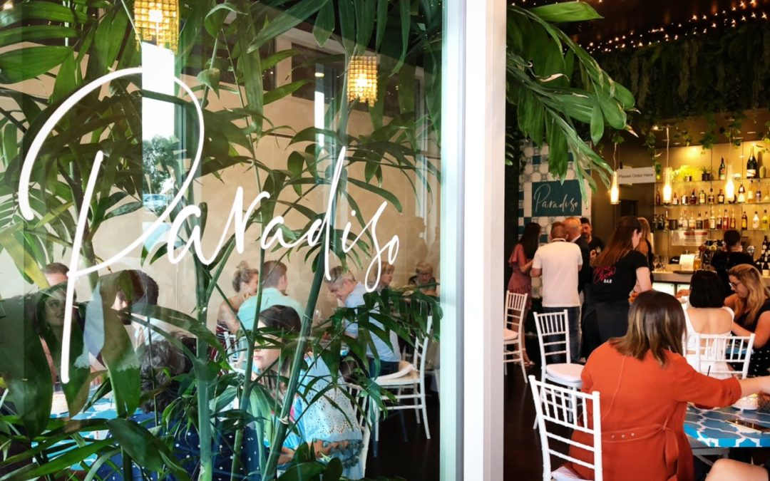 Paradiso is reopen with a new menu!
