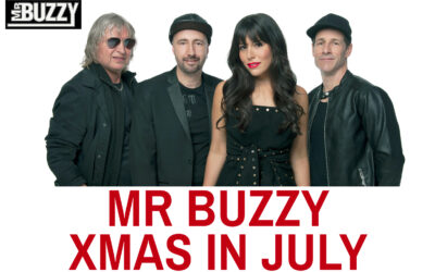 Mr Buzzy Xmas in July