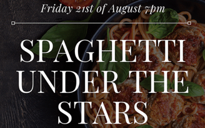 SPAGHETTI UNDER THE STARS IS BACK AGAIN