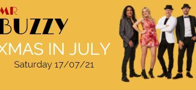 Celebrate Christmas in July with Mr Buzzy!