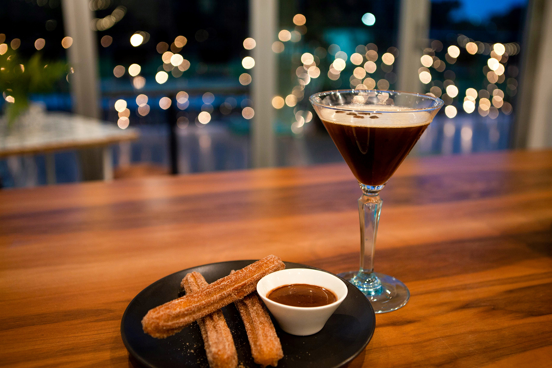 Churros and Espresso Martini