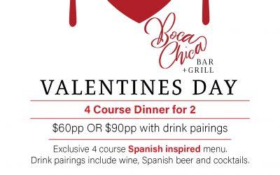 Valentines Days at Boca Chica!